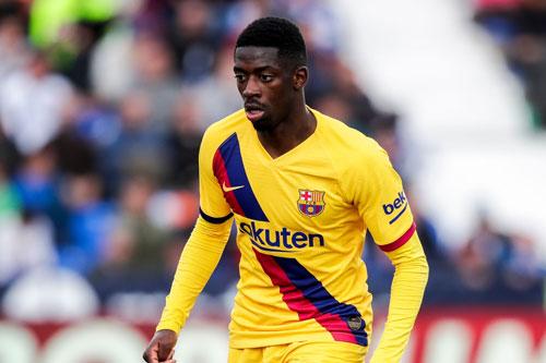 4. Ousmane Dembele (mức lương: 220.000 bảng/tuần).