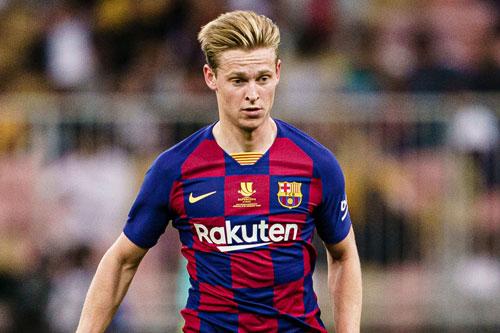 5. Frenkie de Jong (mức lương: 184.197 bảng/tuần).