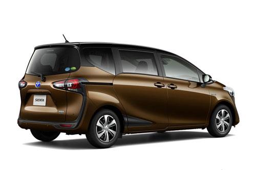 8. Toyota Sienta (doanh số: 110.880 chiếc).
