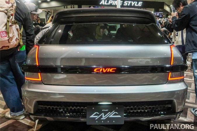 """Can canh Honda Civic """"hang doc"""" tai Tokyo Auto Salon 2020-Hinh-6"""