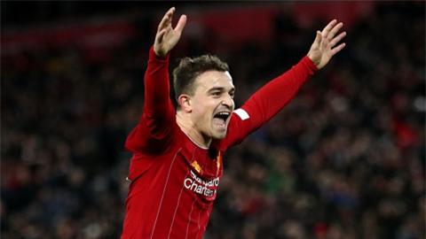 Liverpool sẵn sàng bán Shaqiri mùa Hè này