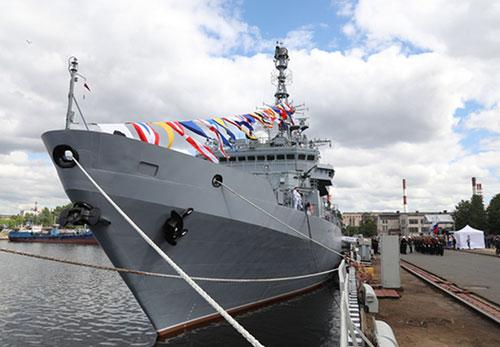 Trang Avia cho biết, trong cuộc tấn công bằng tên lửa của Iran vào các căn cứ quân sự của Mỹ ở Iraq, một tàu hải quân Nga đã được phát hiện ngoài khơi Iran với vai trò đặc biệt bí ẩn.