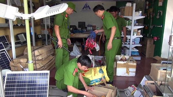 Pháo lậu bị Công an Quảng Nam phát hiện và bắt giữ. Nguồn: Công an Quảng Nam