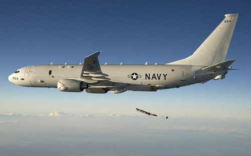 Máy bay tuần tra chống ngầm P-8A Poseidon của Hải quân Mỹ. Ảnh: National Interest.