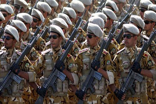 Binh sỹ thuộc IRGC: Nguồn: thetower.org