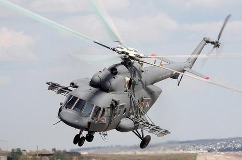 Trực thăng vận tải đa dạng Mi-17V-5 của Nga. Ảnh: TASS.