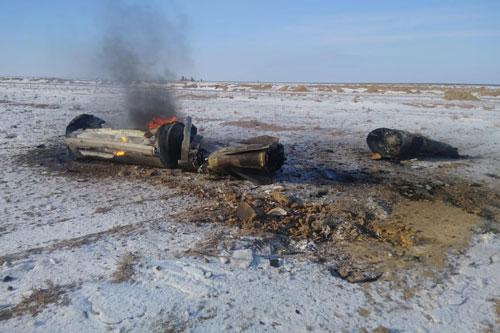 Hôm 9/1 vừa rồi, Nga vừa thử nghiệm tên lửa Iskander-M thất bại. Quả tên lửa phản chủ đã bay sang tận Kazakhstan với quãng đường lên tới hơn 600 km. Nguồn ảnh: Livejournal.