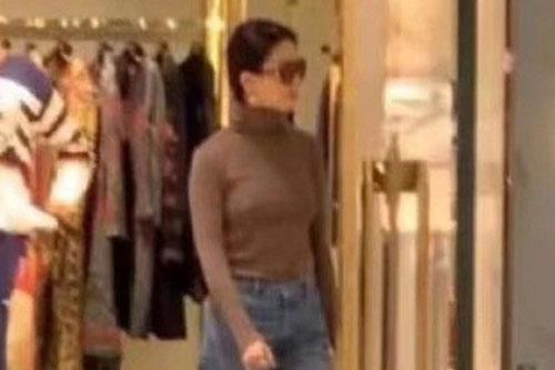 """Lưu Diệc Phi gây thất vọng khi lộ thân hình """"khúc nào ra khúc nấy"""" lúc đi mua sắm"""