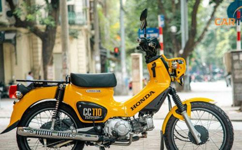 'Phát sốt' với loạt xe Honda Cub vừa độc vừa đắt giá ngang SH tại Việt Nam