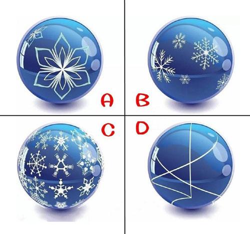 Bạn chọn quả cầu thủy tinh nào?