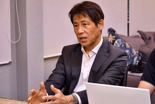 HLV Nishino đặt mục tiêu toàn thắng tại vòng loại World Cup 2022