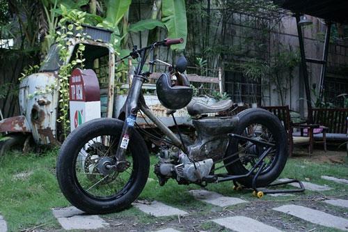 """Honda Super Cub 79 độ """"cực chất"""" của kiến trúc sư Đà Nẵng. Ảnh: Vietnamnet"""