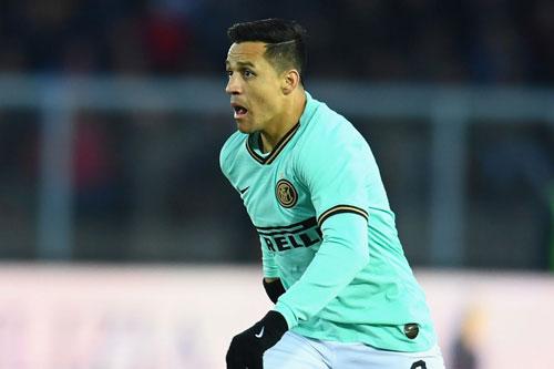 6. Alexis Sanchez (Inter Milan mượn từ M.U, mức thu nhập: 30,8 triệu USD).