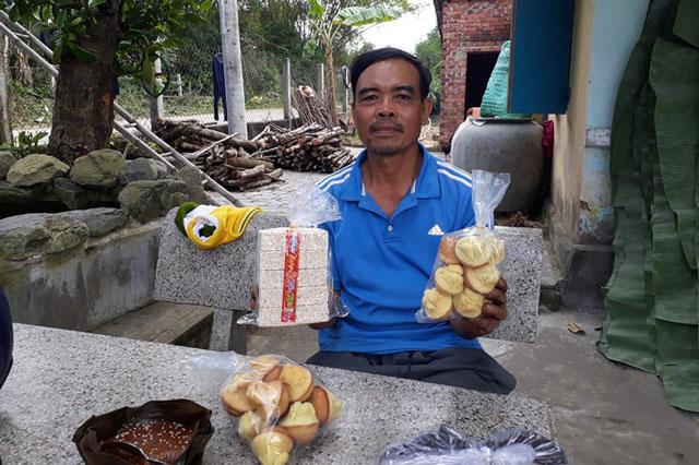 Nghề làm bánh truyền thống hái ra tiền dịp Tết ở Quảng Nam