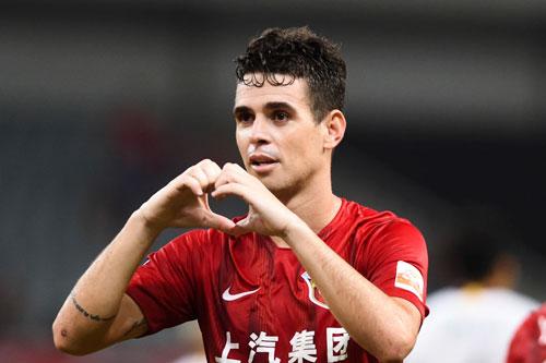 9. Oscar (Shanghai SIPG, mức thu nhập: 29 triệu USD).