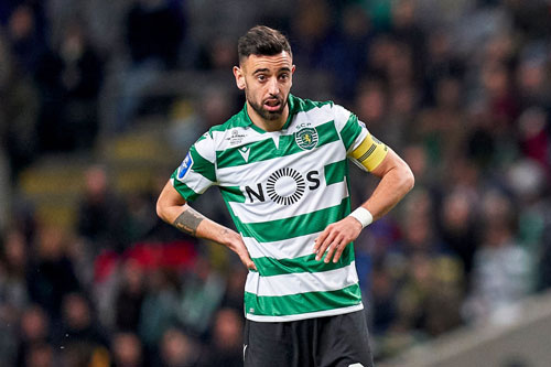 Bruno Fernandes. Ảnh: Getty.