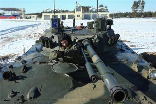 Xe chiến đấu BMD-4M.