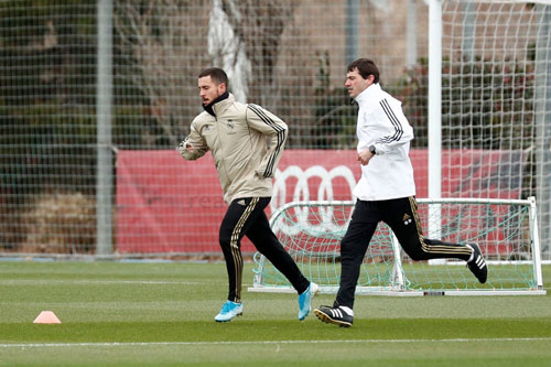 Eden Hazard. Ảnh: Real Madrid.