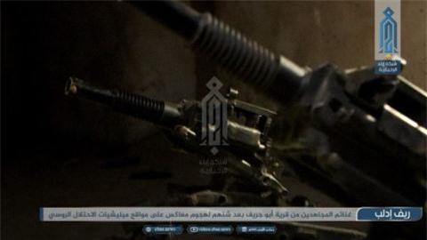 HTS 'trien lam' vu khi thu duoc khi Idlib nong bong