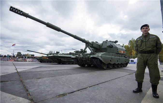 My thua nhan phuong Tay va NATO thua kem phao binh Nga hoan toan-Hinh-10