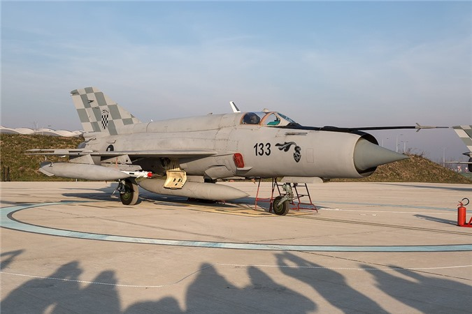 Viet Nam da bo tu lau, gio Croatia moi chiu thay tiem kich MiG-21-Hinh-2