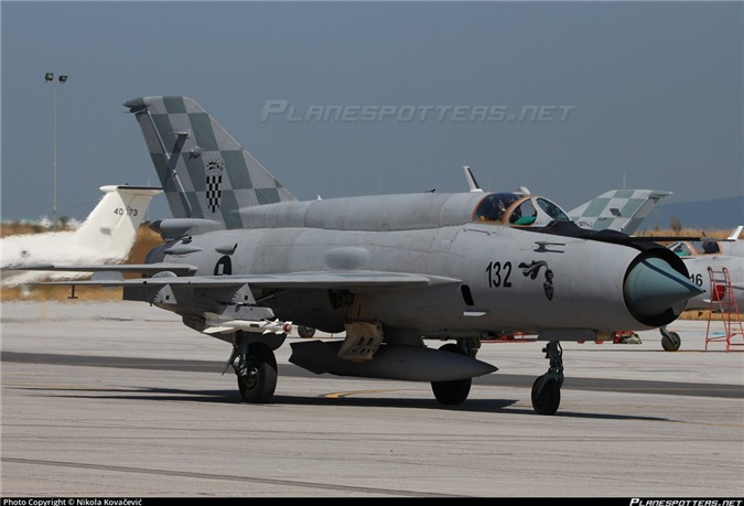 Viet Nam da bo tu lau, gio Croatia moi chiu thay tiem kich MiG-21-Hinh-3