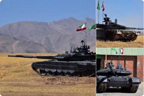 Chiến tăng Karrar có nhiều điểm tương đồng với T-90.