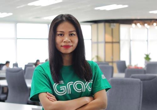 Bà Nguyễn Thái Hải Vân - Giám đốc Điều hành mới được bổ nhiệm của Grab Việt Nam.