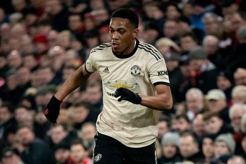 10. Anthony Martial (mức lương: 75.000 bảng/tuần).