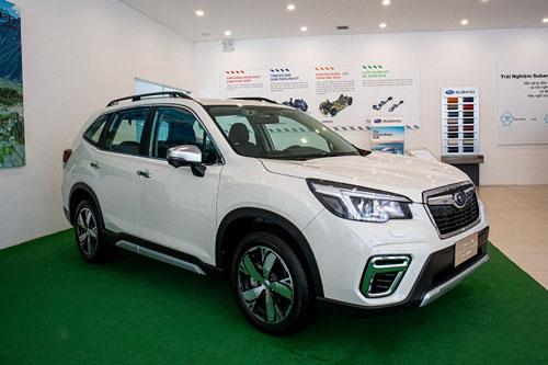 Subaru Forester 2020 tại Việt Nam có gì để cạnh tranh với Honda CR-V?