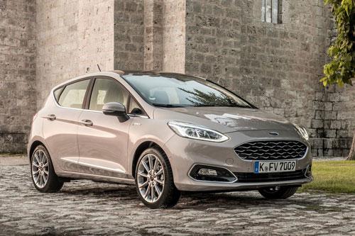 Ford Fiesta (doanh số: 77.833 chiếc).