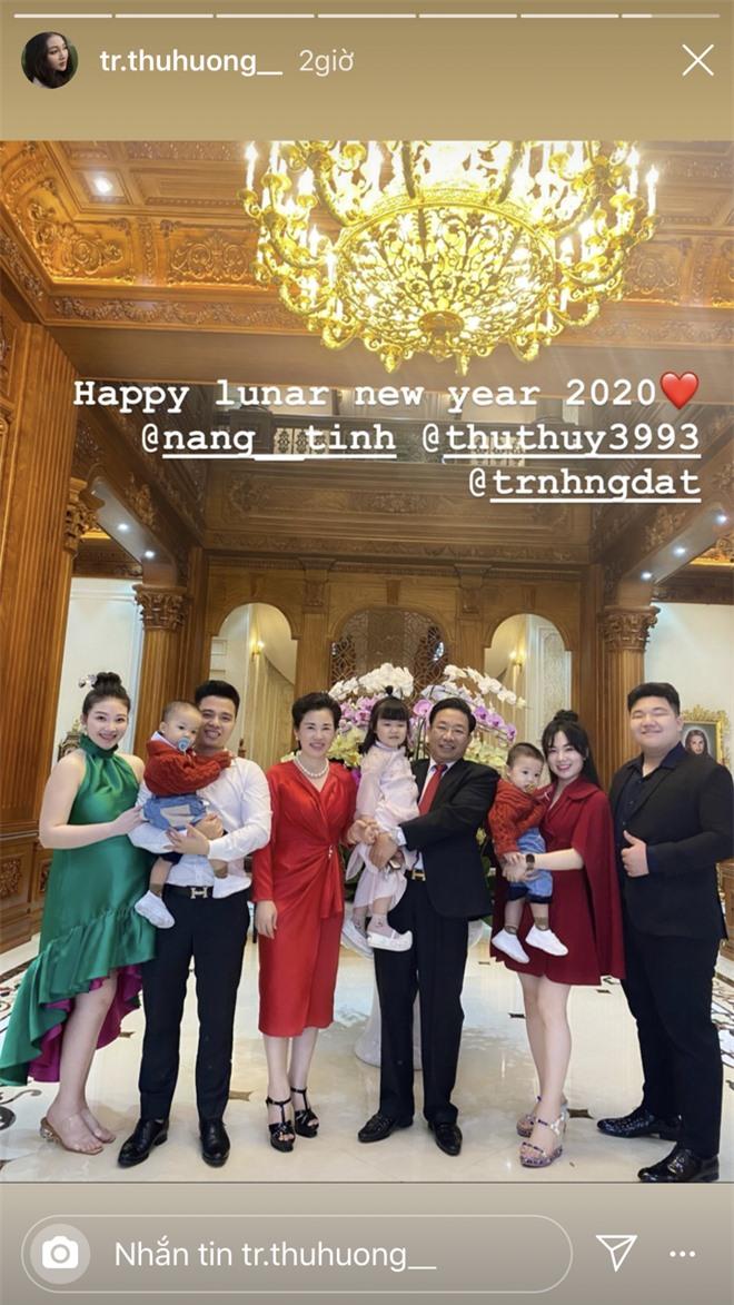 Cô dâu 200 cây vàng hé lộ hình ảnh bên trong lâu đài 7 tầng ở Nam Định, mâm cơm Tết với toàn sơn hào hải vị - Ảnh 5.