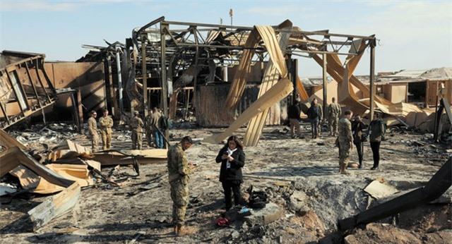 Hơn 30 binh sĩ Mỹ bị chấn động não sau vụ tấn công của Iran - 1
