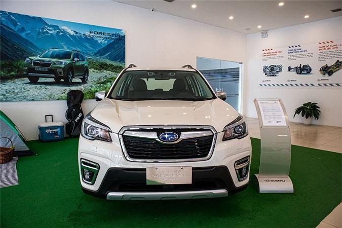 Subaru Forester 2020 tai Viet Nam co gi de dau Honda CR-V?-Hinh-2