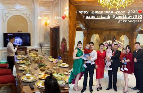 """""""Cô dâu 200 cây vàng"""" hé lộ hình ảnh bên trong lâu đài 7 tầng ở Nam Định, bàn ăn với bát đũa nhìn như giác vàng loá cả mắt"""