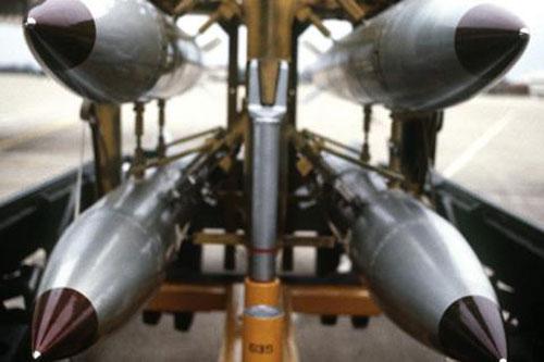 Bom B61-12 - một trong những loại vũ khí hạt nhân của Mỹ.