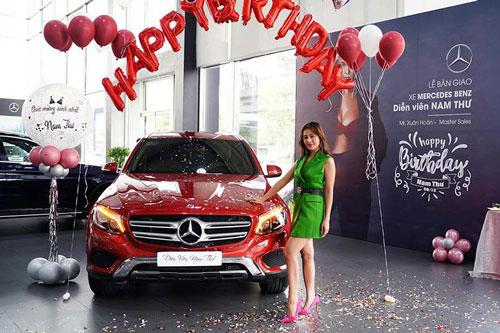 """Cận cảnh Mercedes-Benz GLC tiền tỷ của nữ diễn viên... """"nghèo"""""""