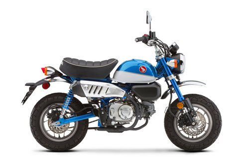 6. Honda Monkey 125 2020 (giá: 4.099 euro).