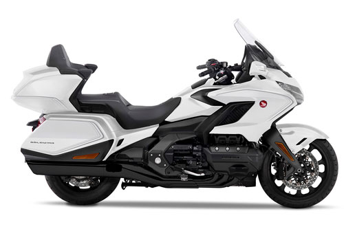 7. Honda Gold Wing Touring Deluxe 2020 (giá: 36.399 euro).