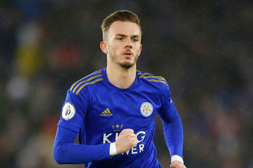 Tiền vệ: James Maddison (Leicester City, 1996).