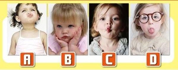 Bạn chọn đứa trẻ nào?