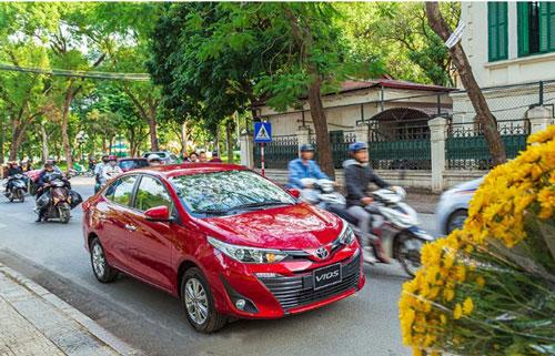 Toyota Vios 2020 đã được nâng cấp nhiều trang bị.