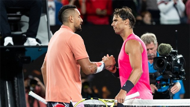 Australia mở rộng 2020: Đánh bại Kyrgios, Nadal giành quyền vào tứ kết - Ảnh 2.