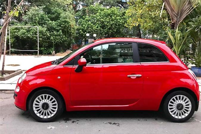 Can canh Fiat 500 2009, xe Y chi 347 trieu tai Viet Nam-Hinh-2