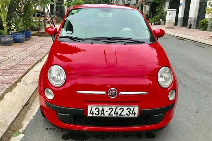 Can canh Fiat 500 2009, xe Y chi 347 trieu tai Viet Nam-Hinh-3