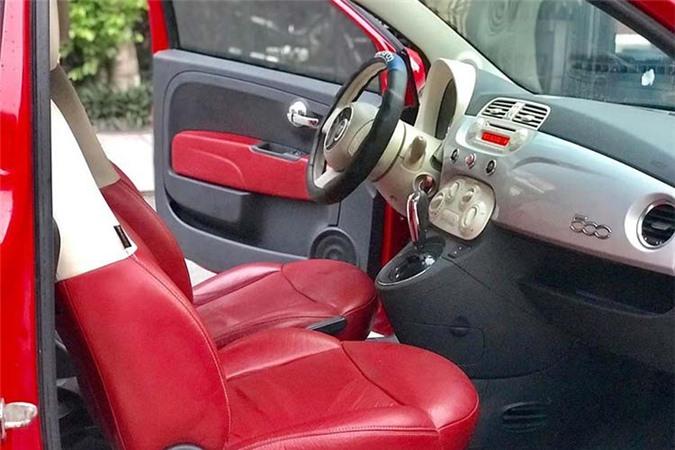 Can canh Fiat 500 2009, xe Y chi 347 trieu tai Viet Nam-Hinh-6