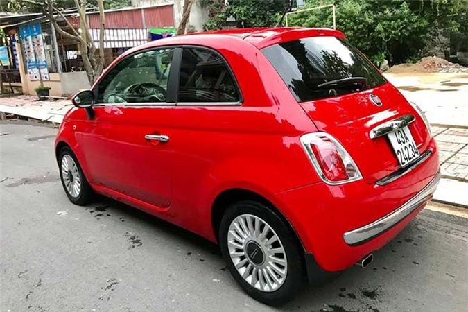 Can canh Fiat 500 2009, xe Y chi 347 trieu tai Viet Nam-Hinh-7