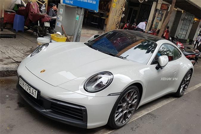 Ngam Porsche 911 Carrera S chinh hang hon 7,6 ty o Sai Gon