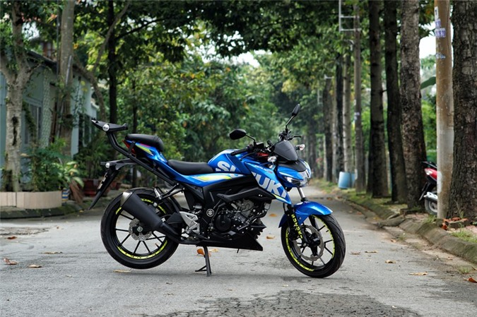 5. Suzuki GSX S150 (68,9 - 69,4 triệu đồng)