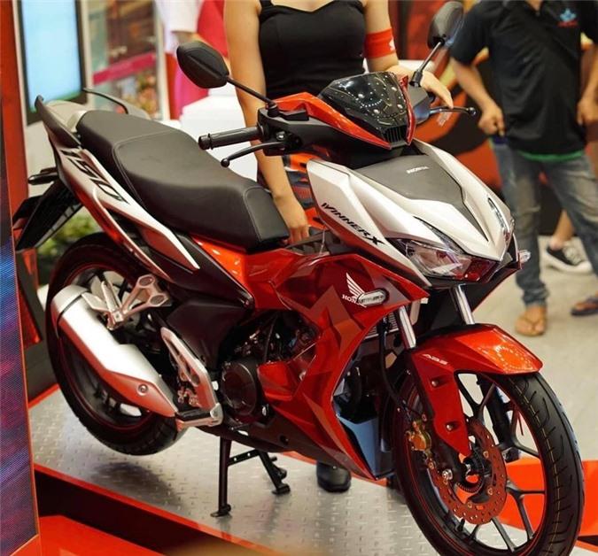 Honda Winner X dòng xe côn tay kiểu dáng thể thao, thiết kế mạnh mẽ
